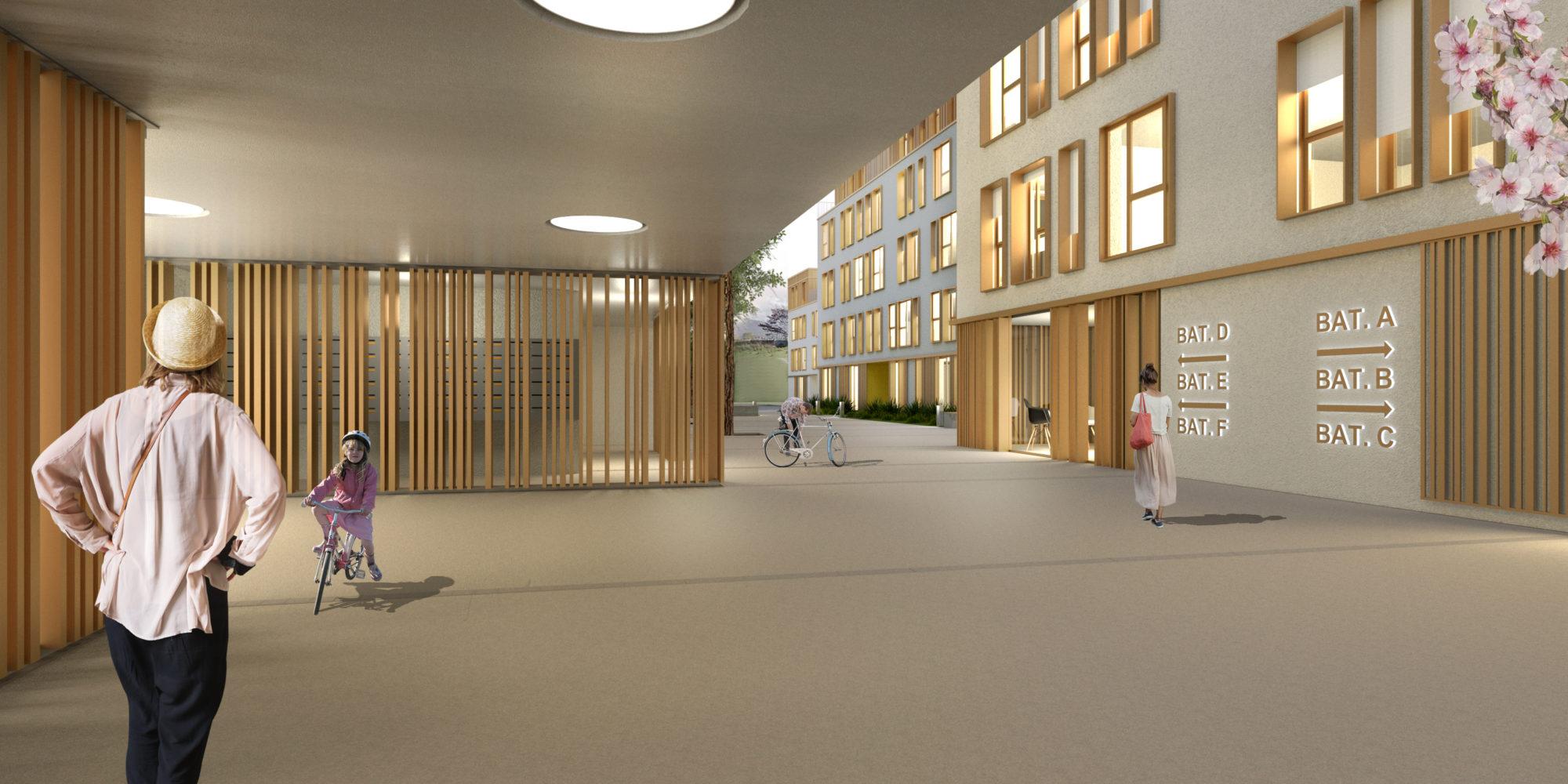architectes- architecture -Conception-réalisation logements sociaux