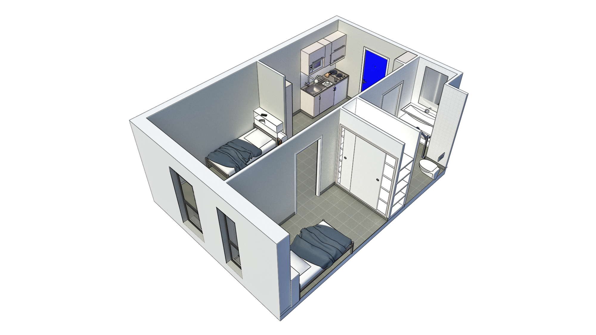 projet maquette appartment
