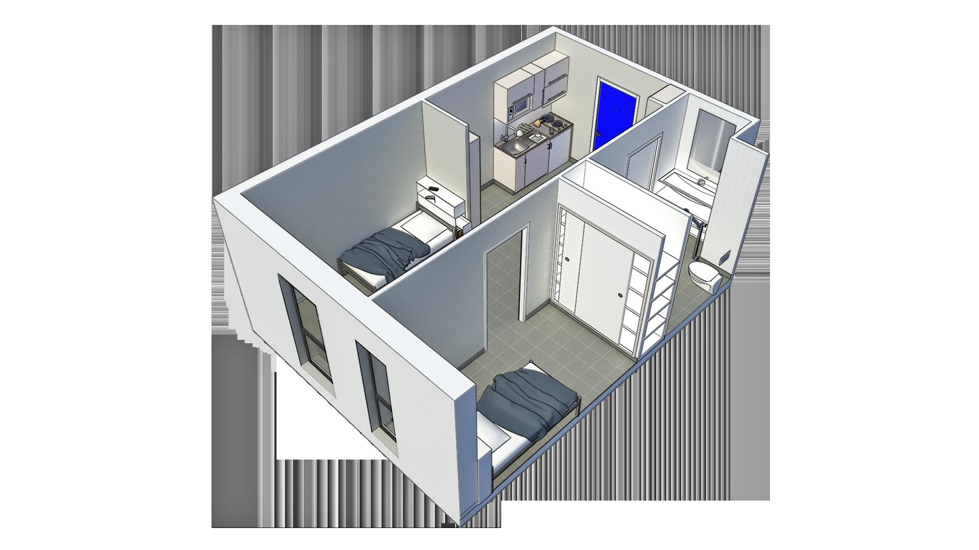 projet habitation communautaire Ajaccio