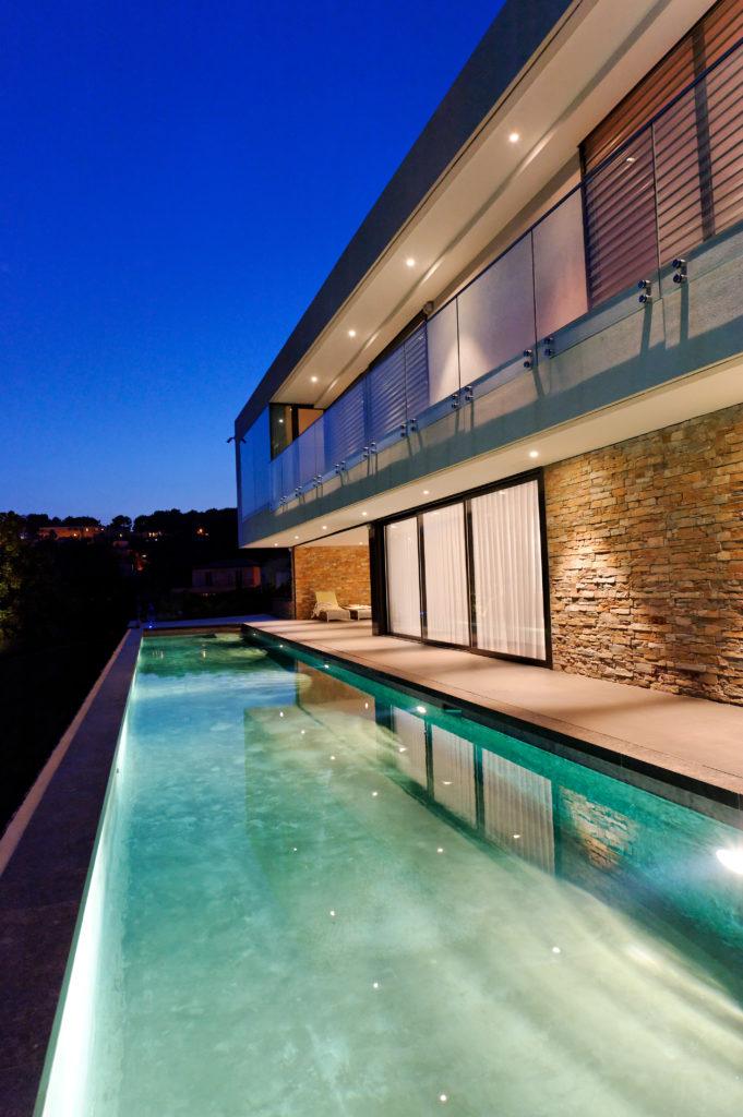 chèvre dor villa et piscine