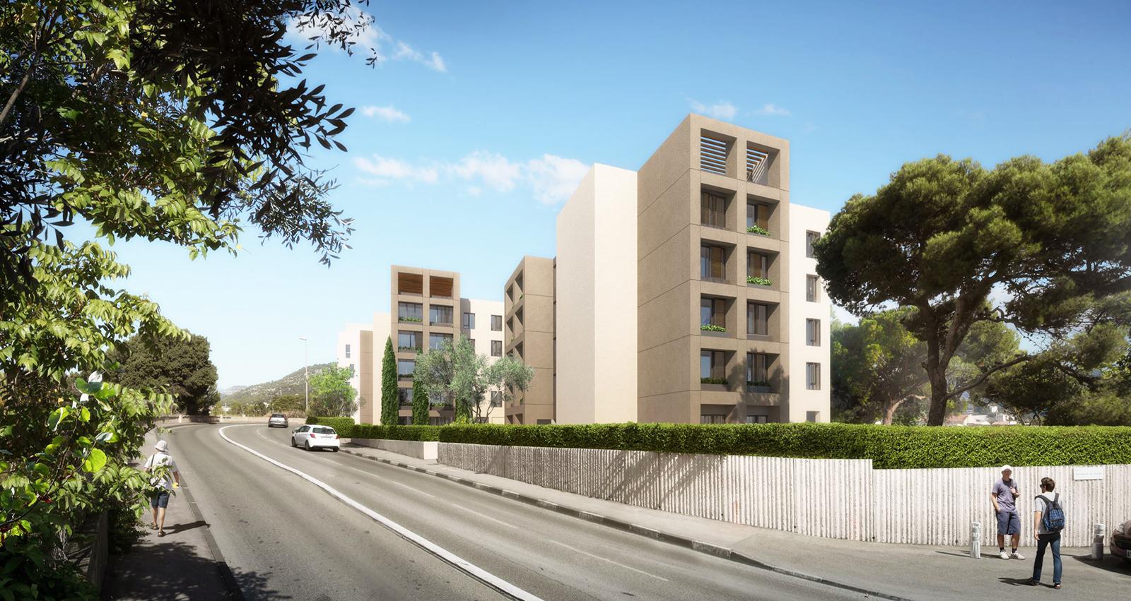 concours projet architecture, exemple projet logements sociaux
