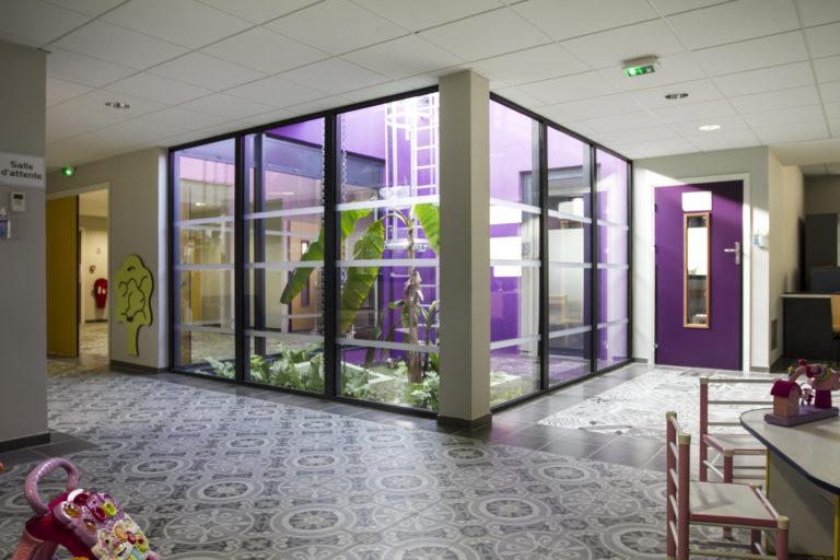 """Crèche """"Les Iris"""" et bâtiment les Mimosas"""