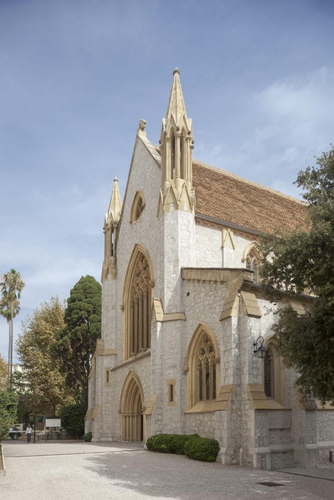 facade neo-gothique eglise, neo-gothique eglise anglicane architecture