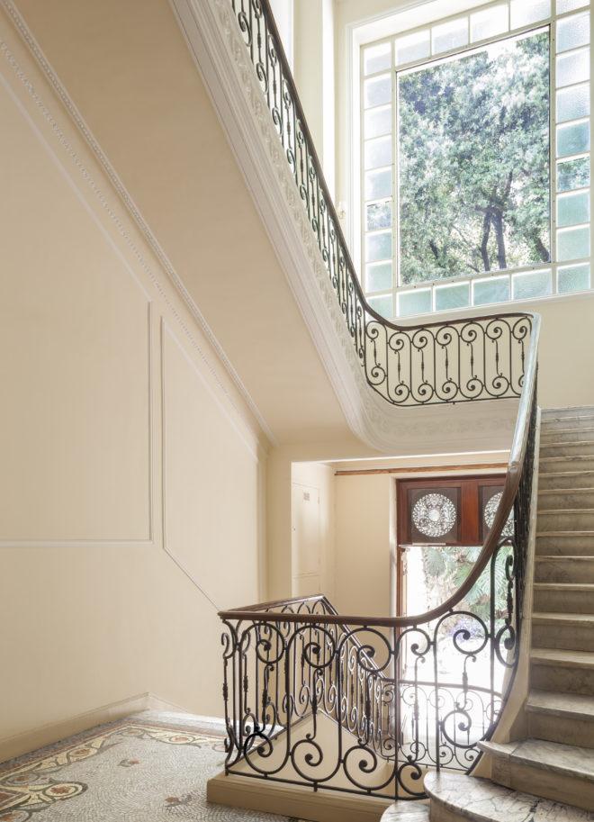detail intérieur, escalier Castel FLOREA