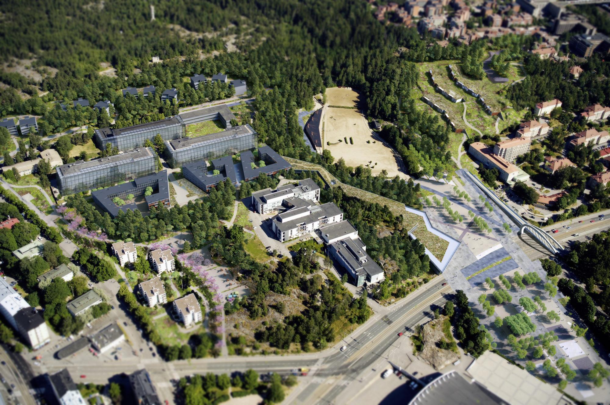 Hôpital Helsinki projet 3D, Helsinki hospital 3D project