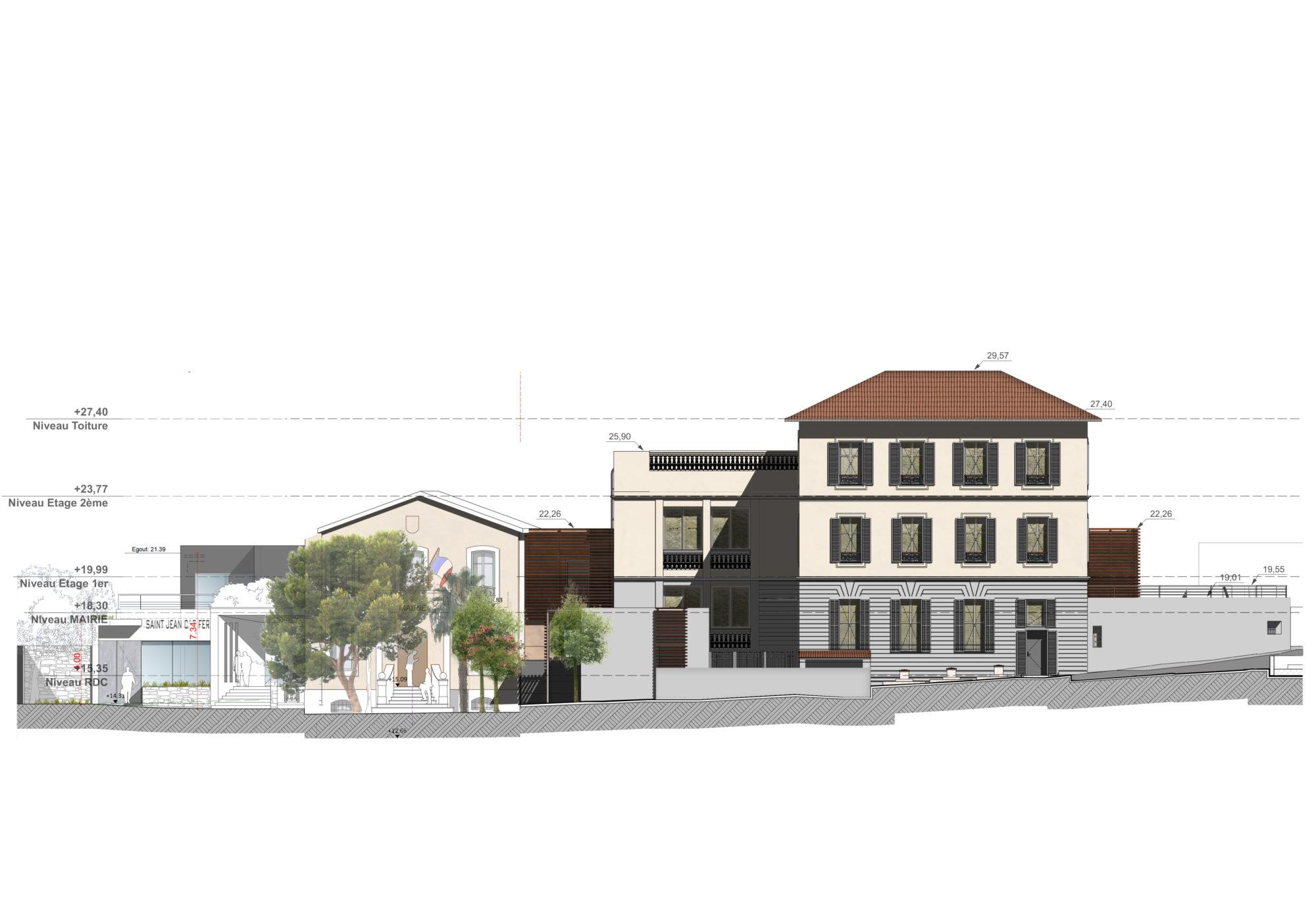 facade est projet Mon école