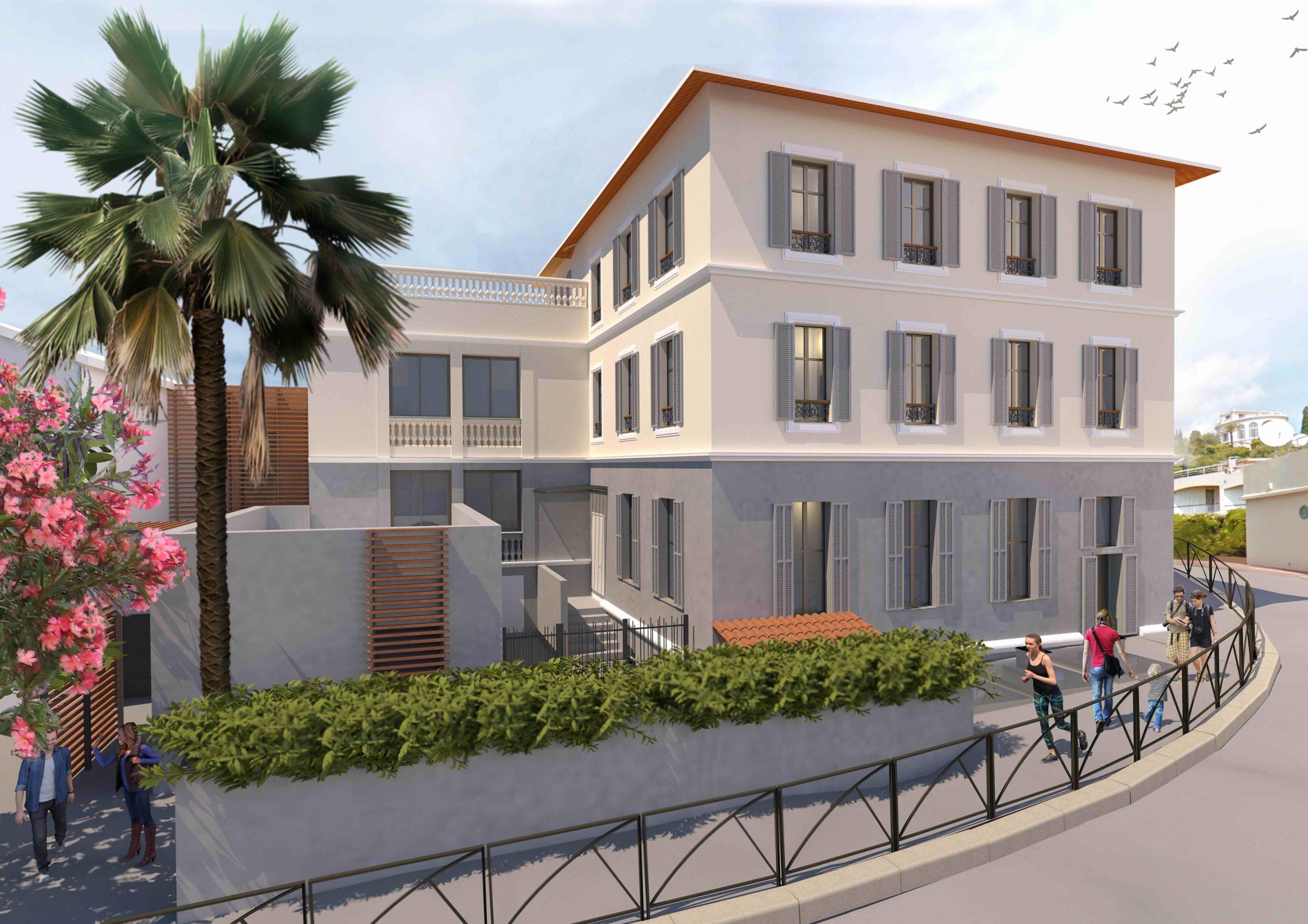 rehabilitation facade Mon école