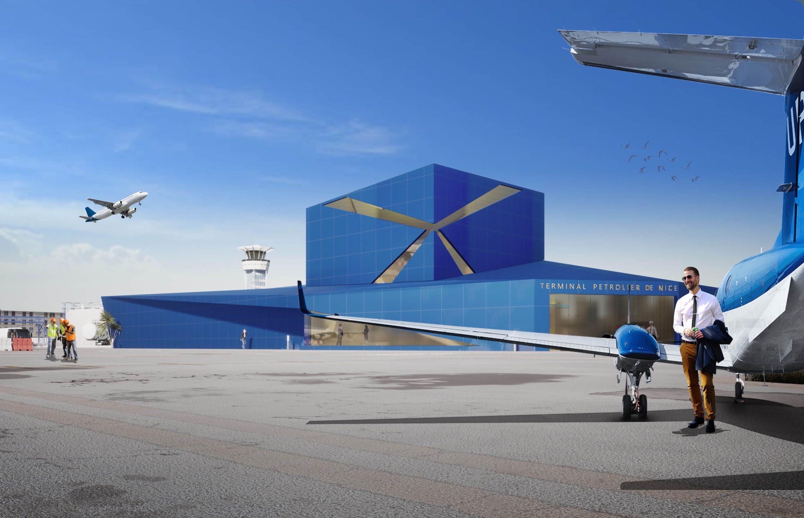Terminal pétrolier de l'aéroport de Nice
