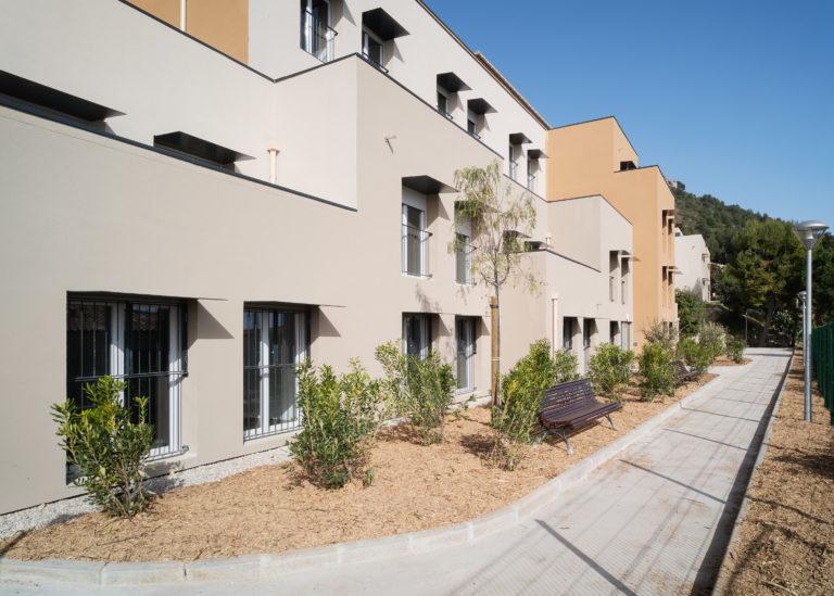 facade residence social Les cistes